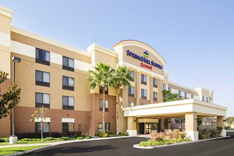A good night's rest at Springhill Suites in Fresno can set you up for a full day at Yosemite.