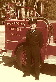 Jensen became a Montecito firefighter in 1952.