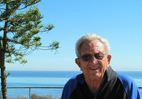 Roy Jensen served on the Montecito Fire Protection District's board for 39 years.