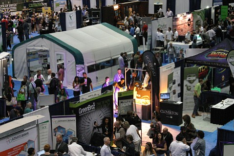 Participants at the Cannabis World Congress 2015 in Los Angeles.