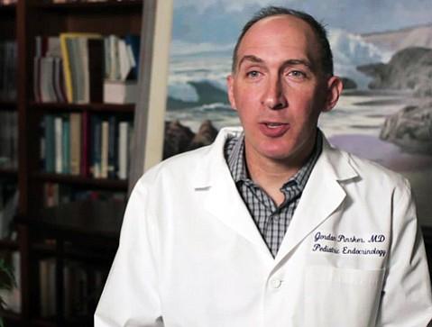 Dr. Jordan Pinkser, of the Sansum Diabetes Center, is involved in the development of an artificial pancreas.