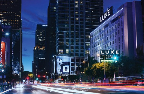 Luxe City Center In Downtown L A New Hotels