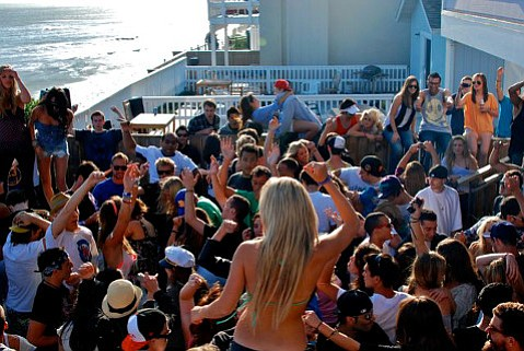 The party crowds that can build up in Isla Vista are regulated by several county ordinances for noise and alcohol.