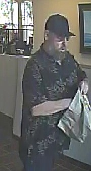 Sheriff's deputies are searching for a 55- to 65-year-old male suspect who robbed the Union Bank at the Fairview Shopping Center late Monday morning.