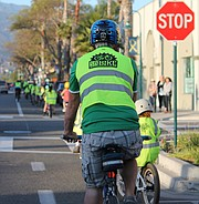 Learning to ride safely on the street at a young age