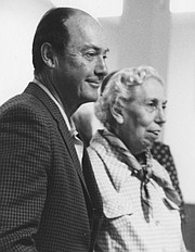 <strong>PEN PALS:</strong>  Eudora Welty and Ross Macdonald became avid correspondents after Welty gave Macdonald a positive review.