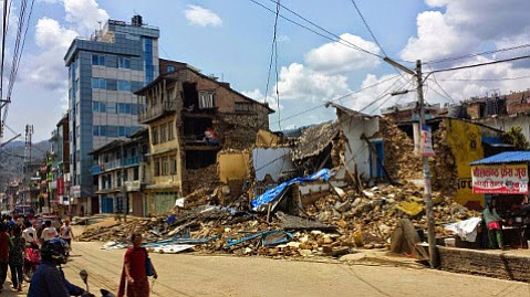Effects from the earthquake last May in and around Kathmandu, Nepal, still linger.