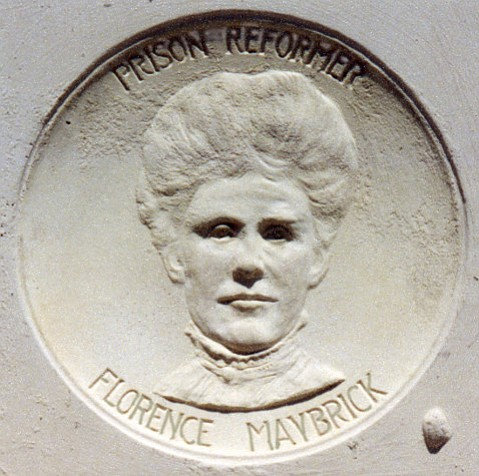Florence Maybrick had spent 15 years in prison, for a murder she probably did not commit, when Franceschi House owner Alden Freeman took up her cause.