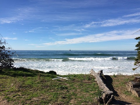 Waves are another reason to live in Isla Vista.