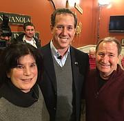 with Rick Santorum