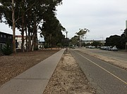 Little more than a sidewalk and bike path separate I.V. from UCSB; the university has proposed developing the space to better integrate the two communities.