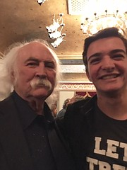 David Crosby and Jackson Coccioloni