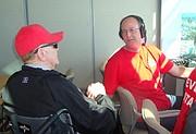 Fairly and announcer John Martony