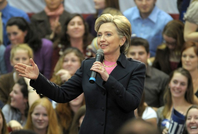 Hillary Clinton, who spoke at UCSB in 2008, will be in Santa Barbara Saturday afternoon.
