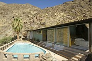 The Frey House is a prime example of the area's Desert Modernism architecture