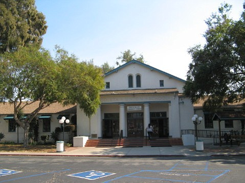 Now the community center for Goleta, this building held Goleta Union School in the city's earliest days.