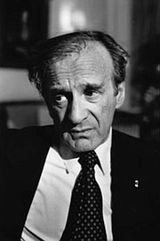 Holocaust survivor Elie Wiesel told the author his experiences left anger, but not bitterness. Wiesel's writings gripped the world, and he won the Nobel Peace Prize in 1986.