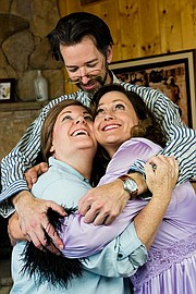 <strong>FAMILY TIES:</strong> (from left) Leslie Ann Story, Jay Carlander, and Anne Guynn star in Vanya and Sonia and Masha and Spike.