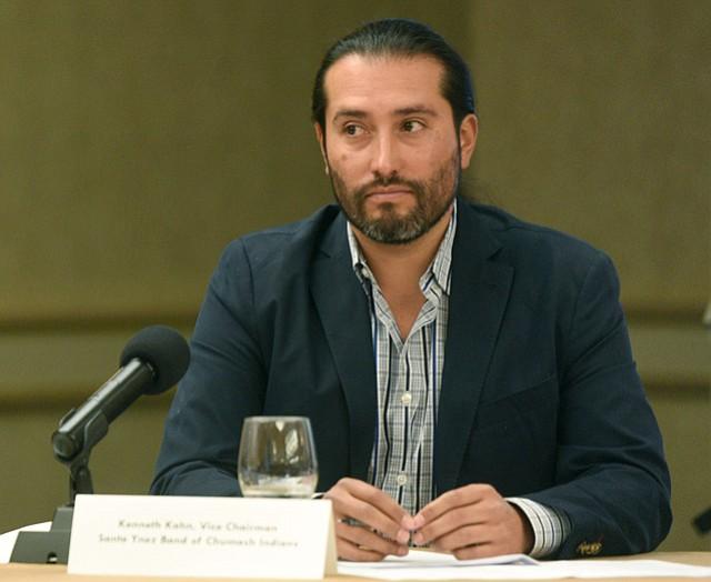 Tribal Chair Kenneth Kahn