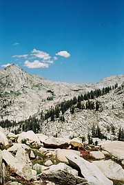 Tokopah from the trail