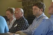 Ryan Drake (third from left), water manager, Goleta Water District