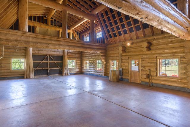 Make Myself Home Log Cabin Mansion Estate Highway
