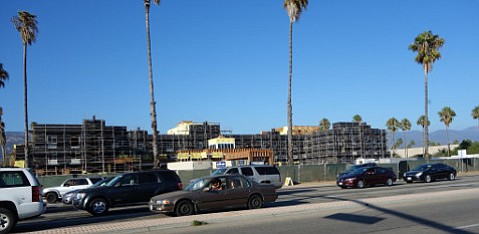 The race for Goleta City Council may determine whether more developments, like the Hilton Garden Inn/Rincon Palms Hotel at Storke and Hollister that is rising to obscure the Santa Ynez Mountains, will proliferate.