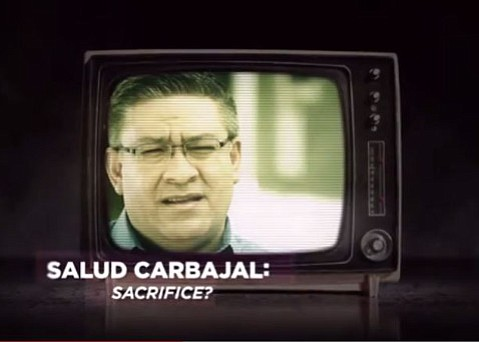 Justin Fareed's 'Sacrifice' TV ad against Salud Carbajal has the supervisor calling foul.