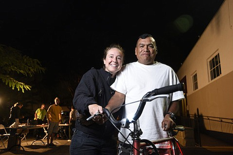 S.B. Bicycle Coalition will offer bike lights next week to make cycling safer as winter darkness falls an hour earlier starting Sunday.
