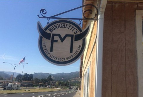 Monighetti's livestock supply store in Buellton carries much more than feed and horseshoes, and is only one of the small businesses to visit locally on #ShopSmall Saturday.
