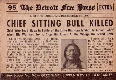 chief sitting bull and standing rock