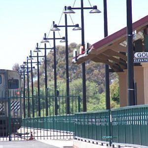 Amtrak station in Goleta