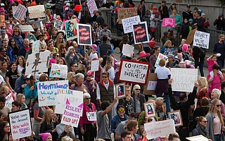 Santa Barbara Women's March, January 2017
