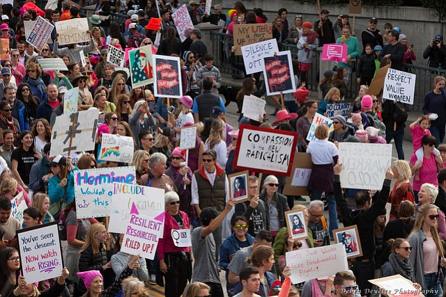 Santa Barbara Women's March, January 2017