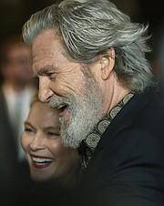 2017 SBIFF American Riviera Award honoring Jeff Bridges presented by actor Gil Birmingham
