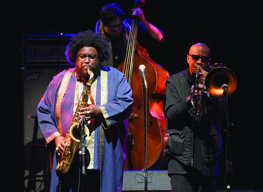 The year also saw jazz saxophonist Kamasi Washington come to UCSB's Campbell Hall.