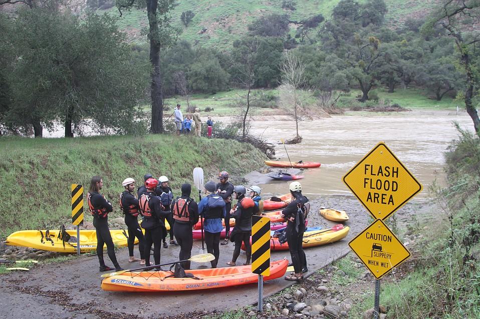 Kayaking the santa ynez river freerunsca Gallery