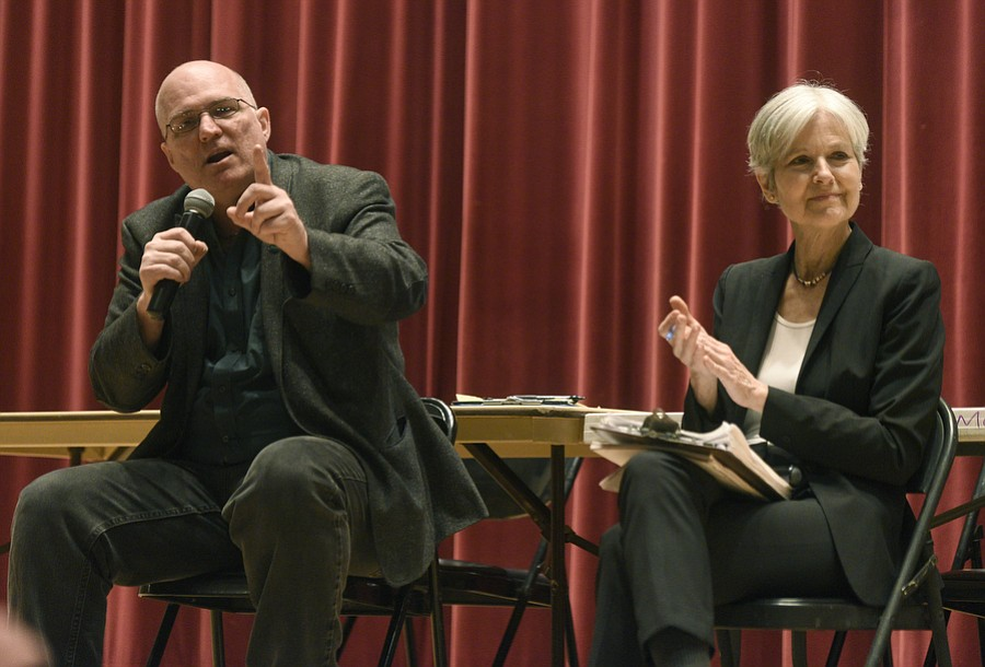 2016 Green Party Presidential candidate Jill Stein visits UCSB with her campaign manager and 2004 Green Party Presidential Candidate David Cobb (March 14, 2017)