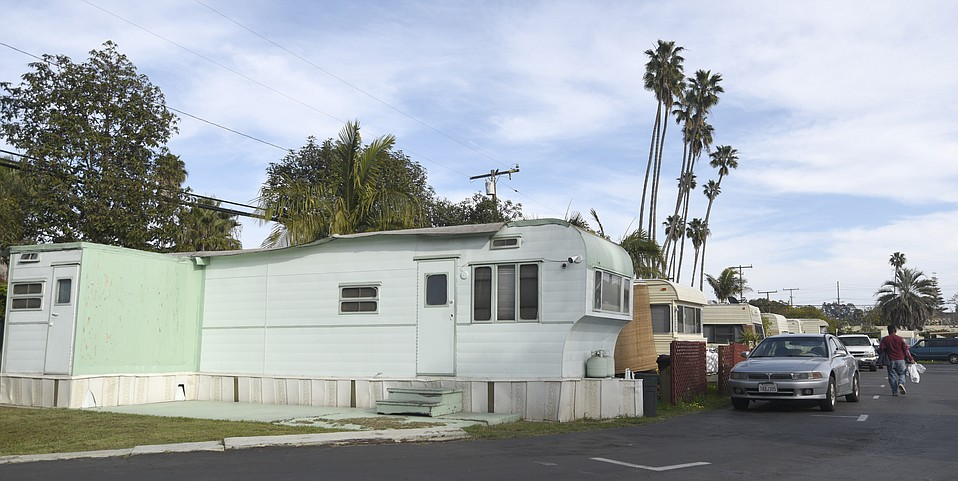 UNCERTAINTY FACTOR:  As fears of gentrification permeate Santa Barbara's Eastside, area investors are reportedly selling A Tropical Garden trailer park to mobile-home-park developers after buying it for $5.8 million last fall.
