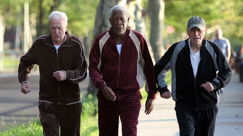Michael Caine, Morgan Freeman, and Alan Arkin star in Going in Style, about three pensioners who decide to rob their company's bank.