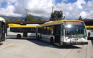 Santa Barbara's bus system, which has been cutting service in recent years, would benefit if Gov. Brown's gas tax passes, which would raise money for transit and roads.
