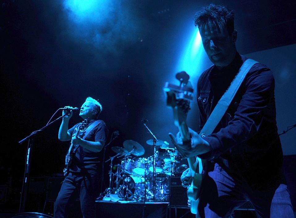 New Order plays the Santa Barbara Bowl (April 18, 2013)