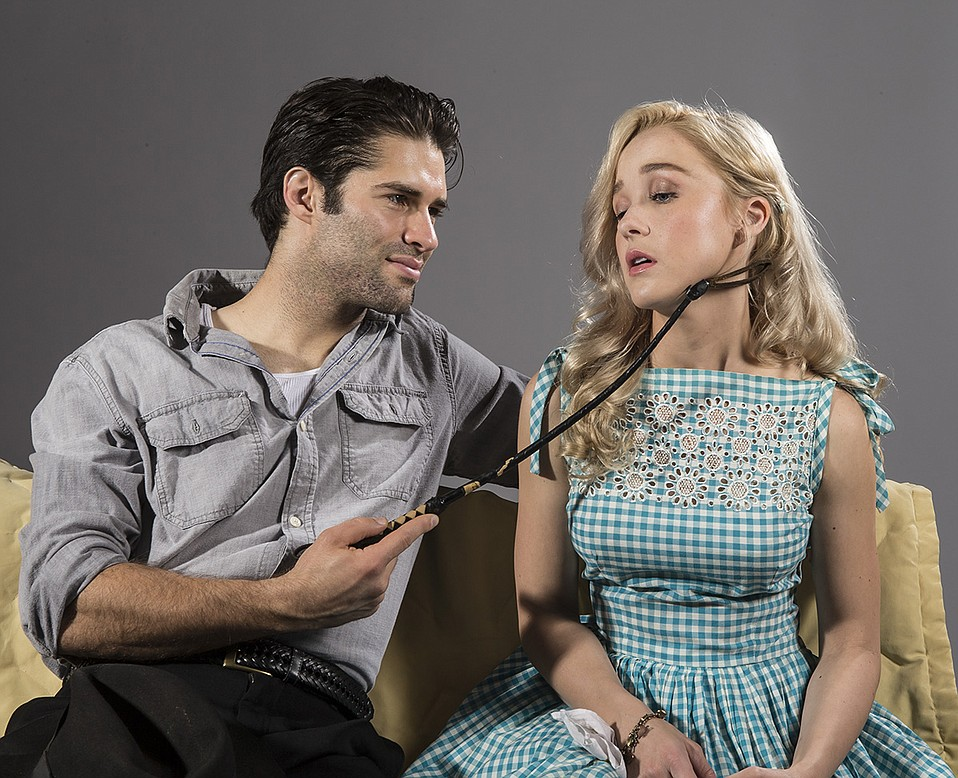 Asher Grodman and Lily Nicksay in Baby Doll