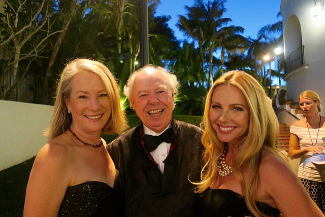 Richard Mineards, pictured here at a Dream Foundation gala with Hayley Firestone Jessup (left) and Ivana Bozilovic, has prevailed in a labor suit against the <em>Santa Barbara News-Press</em>.