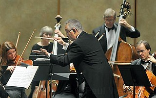 Maestro Heiichiro Ohyama conducts the Santa Barbara Chamber Orchestra.