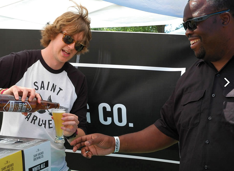Saint Archer will be one of several S.B. breweries present at the Buellton Brew Fest.