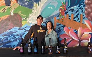 Buscador co-owners Matt Kowalczyk and Stephanie Lopez first tried their hand at winemaking in 