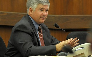 County Water's Tom Fayram is pushing a new contract governing how water is taken out of Lake Cachuma.
