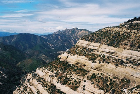 White Ledge, Los Padres National Forest