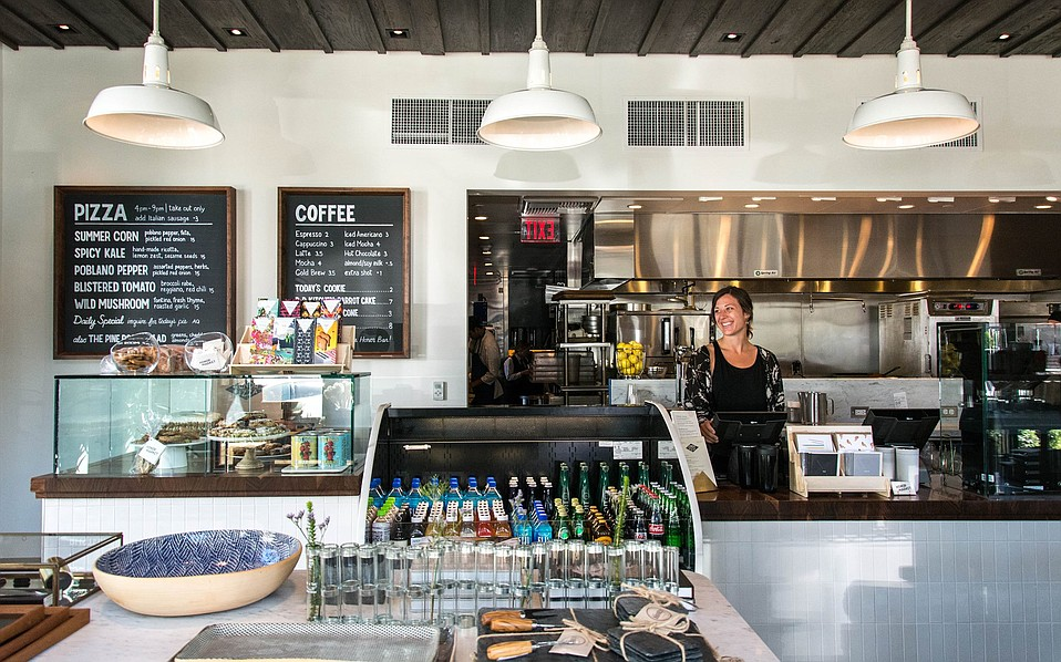 Serving takeout pizza, drinks, décor, and more, Honor Market has made a home next door to the Honor Bar.
